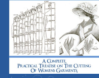 Design Your Own Womans Clothes with The AMERICAN GARMENT CUTTER For Women Printable or Read on Your iPad or Tablet Instant Download