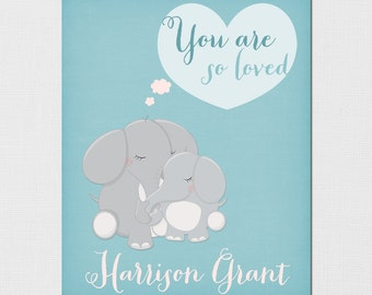 You are so loved - You are so loved print - You are so loved nursery print - You are so loved Shower Gift - Personalized Name - PRINTABLE
