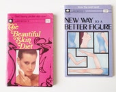 Mini Purse Books, Lot of 2: The Beautiful Skin Diet & New Way to a Better Figure