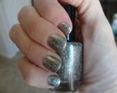 Gold Moss : Custom-Blended Nail Polish Glitter Nail Polish