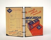 French FIlm - Agfa Envelope - Handmade Journal Vintage Card OOAK -