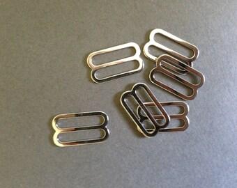 """11/16"""" Silver Slides"""