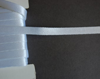 3yds - White Satin Taping
