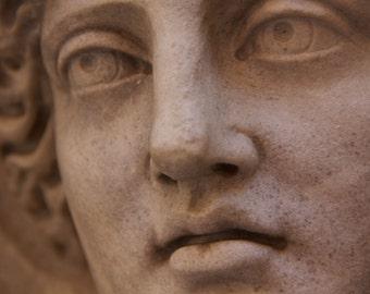 Goddess Photo, Roman Statue Picture, Photograph of Goddess, Gray Art Prints, Gray Wall Decor, Large Wall Art, Art Prints, Monochrome Art