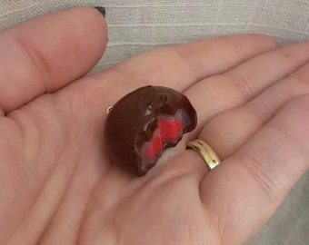 Polymer Clay Cherry Cordial Pendant