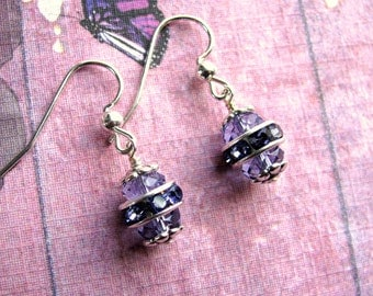 Easter Egg Earrings, Swarovski Earrings, Rhinestone Earrings, Holiday Earrings, Easter Jewelry, Holiday Jewelry, Dangle Earrings, Easter