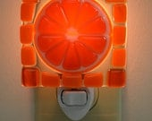 Orange Slice Night Light