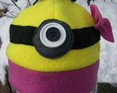Despicable Me Inspired Beanie for girls