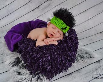 Custom Size Frankenstein Hat--Newborn to 5 Years