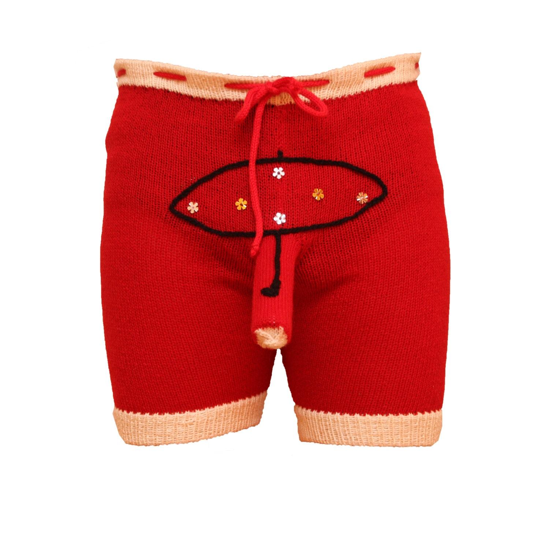 Shorts Boxers Underwear Trousers Handmade Men Present Gift