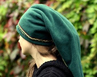 Green Link hat - Legend of Zelda hat - hippie hat - elven hat - pointy hat