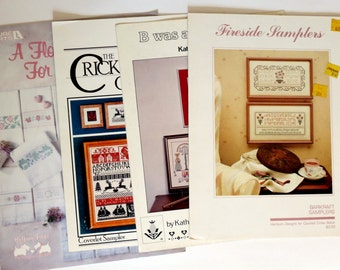 Counted Cross Stitch Four Leaflets