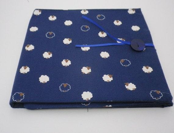 Circular Knitting Fabric : Circular knitting needle case sheep fabric by quincepie