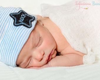 Baby boy hat, #newborn boy hat, Baby boy hospital hat, boy hospital hat, boy newborn hat, boy baby hat,