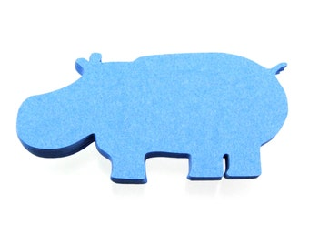 "2.5"" Hippo Die Cuts set of 25"