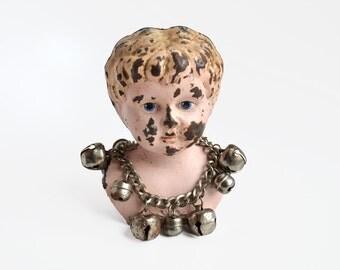 vintage silvertone jingle bells bracelet from Elizabeth Rosen