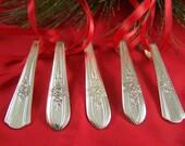 Silver Christmas ORNAMENT, Christmas Ornament, Silver Ornament, Vintage Ornament, Triump & Desire by Int'l, Under 20, ***SALE Sale SALE***