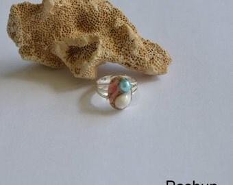 Seashell Jewelry ... Sweet Ocean Ring (1077)