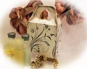 Favor Gift Box Digital Download Floral Scrolls