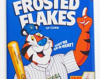 Milwaukee Brewers Cereal Box Fridge Magnet