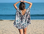 SALE Tie Dye Cover-Up