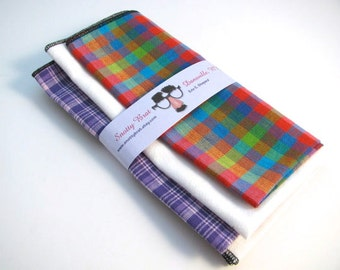 SALE - Three pack discount - SAVE when you choose any three hankies..... with your choice of any of my small prints