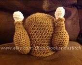 Thanksgiving Turkey Crochet Hat