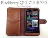 Leather Blackberry Z30 Wa...