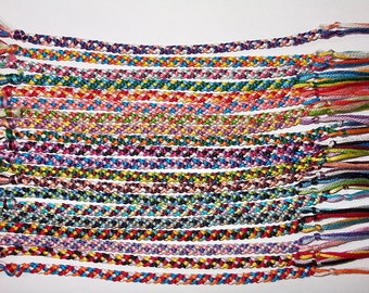 Rag Rug Friendship Bracelet