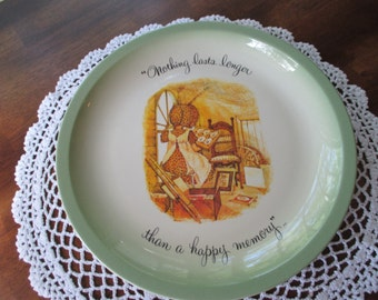 Holly Hobbie Collectable Plate