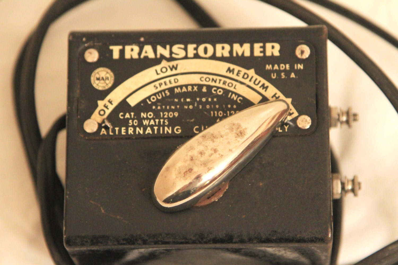 Marx Train Transformer No 1209 50 Watt Vintage