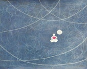 Fine Art Print  of my Original Painting titled Meditation Glow