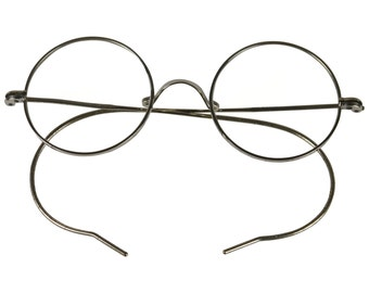 Antique White Gold Windsor Spectacles