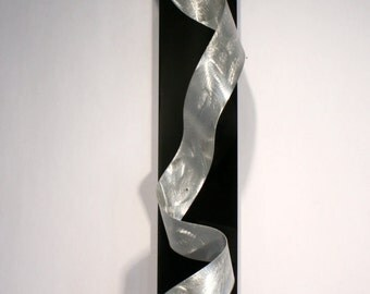 Wilmos Kovacs Abstract Metal Wall Sculpture Modern Rainbow Decor Painting W839