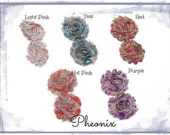 Shabby Chic Flowers - Pheonix Prints - set of 12
