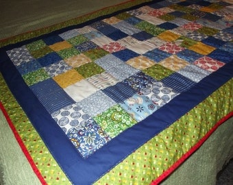 Hand Quilted Country Chic Bed Warmer