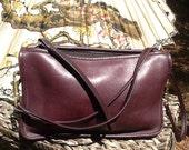 60's-70's BURGUNDY BONNIE CASHIN Convertible Bag