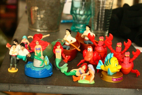 Little Food Toys : Vintage s little mermaid figures