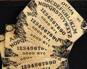 5 ouija board stickers glossy and uv laminated