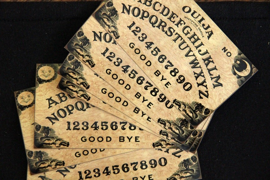 how to set up a ouija board
