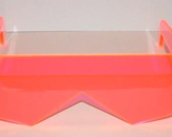 Pink Visor Cosplay Costume glasses