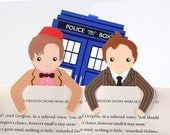 Bookmark buddies set, 10 and 11 & police box *SALE*