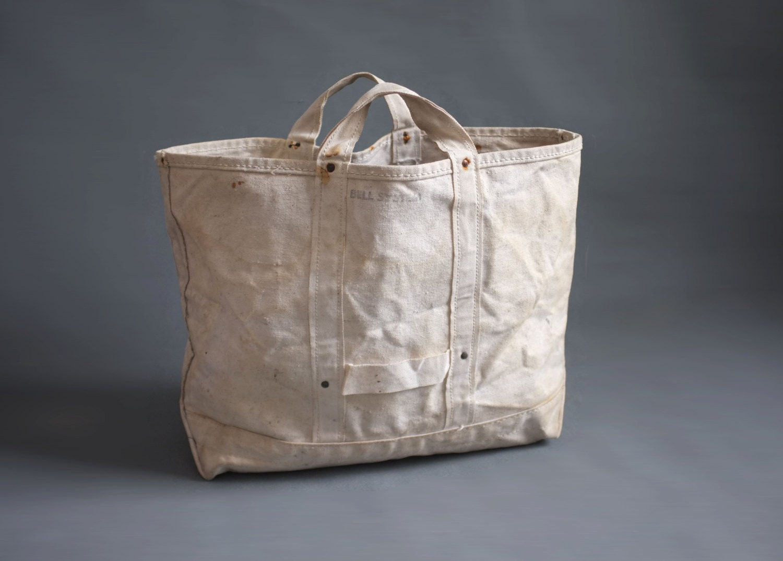 Vintage Bell System Heavy Duty Canvas Work Bag Lineman Bag 5