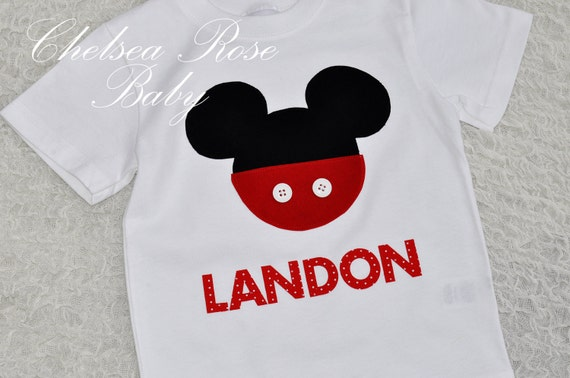 Boys Mickey Mouse Shirt or Girl Minnie Mouse Shirt, Disneyland, Disney Sibiling Shirts, kids mickey or minnie shirt