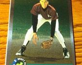 DEREK JETER 1992 ROOKIE Draft Pick Rare Foil Baseball Card New York Yankees Vintage