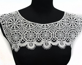 Lace Crochet Collar for Shirt Blouse Dress sewing and crafting