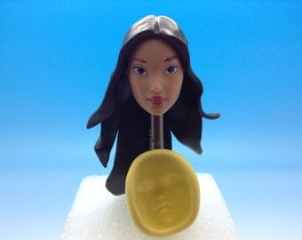 Princess Pokahonta face-silicone mold
