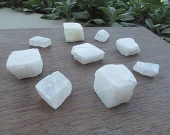 Raw White Calcite Chunk R80