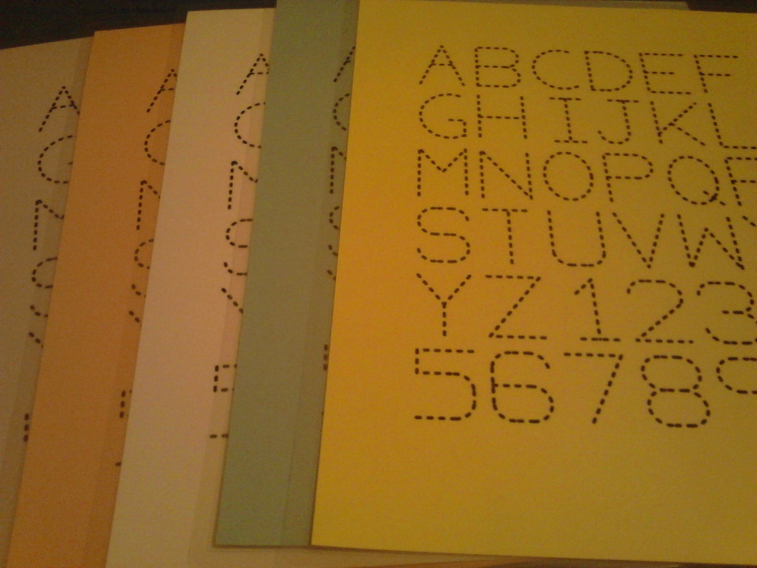 traceable alphabet letters numbers dry erase laminated With dry erase letters and numbers