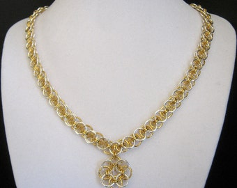 Sylvan Spring Chainmaille Jewelry Set